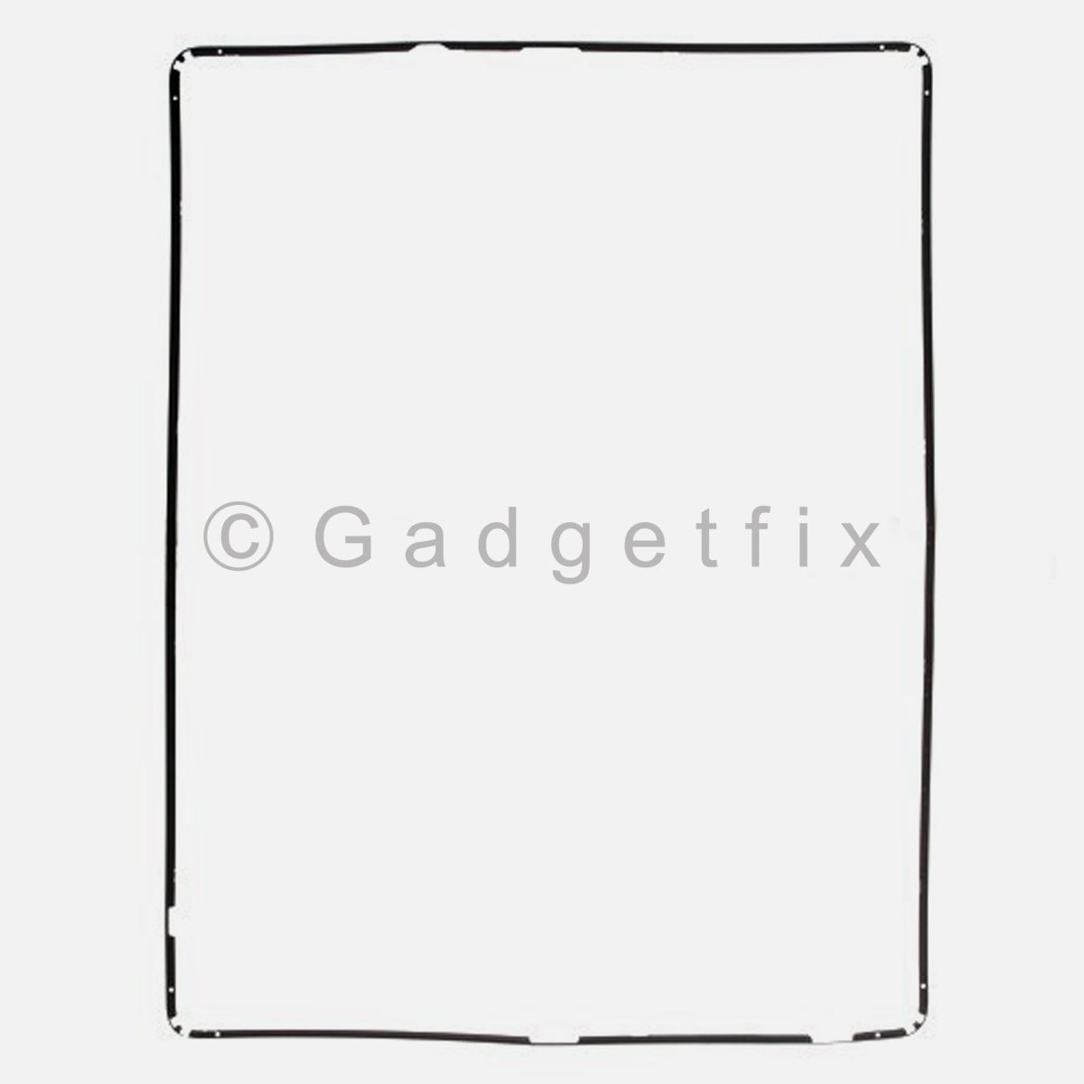 Black iPad 3rd generation gen touch digitizer holder plastic mid frame bezel US