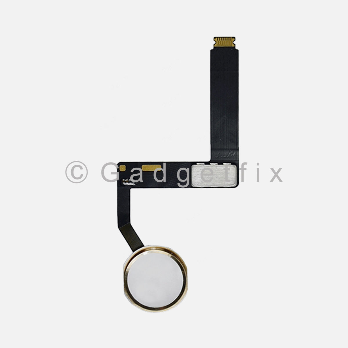 Gold Home Menu Button Flex Cable Replacement For iPad Pro 9.7 A1673 A1674 A1675