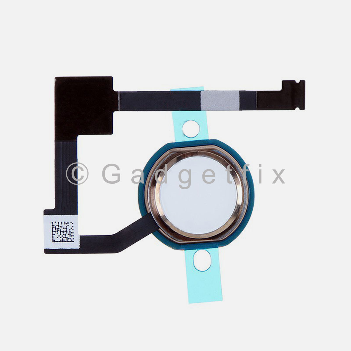 Gold Home Menu Button Flex Cable Replacement Part for iPad Air 2 A1566 A1567