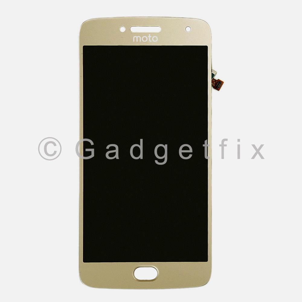 Gold LCD Touch Screen Digitizer For Motorola Moto G5 Plus XT1681 XT1682 XT1683 XT1685 XT1686 XT1687