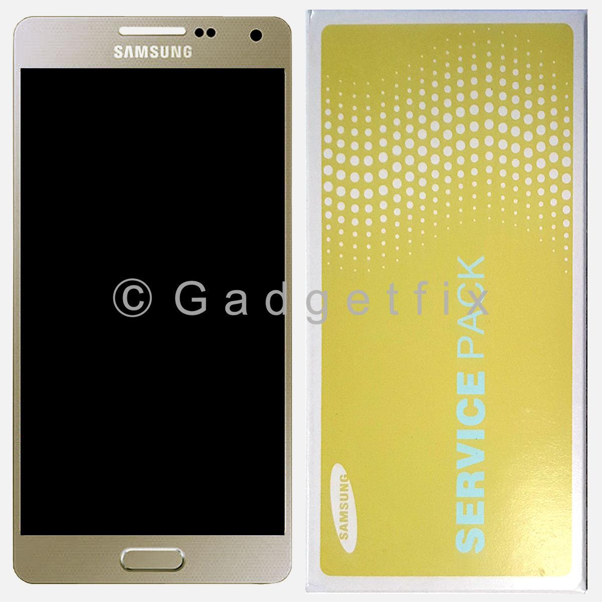 Gold Samsung Galaxy A5 A500 A500X A500F A500FQ LCD Screen Touch Screen Digitizer