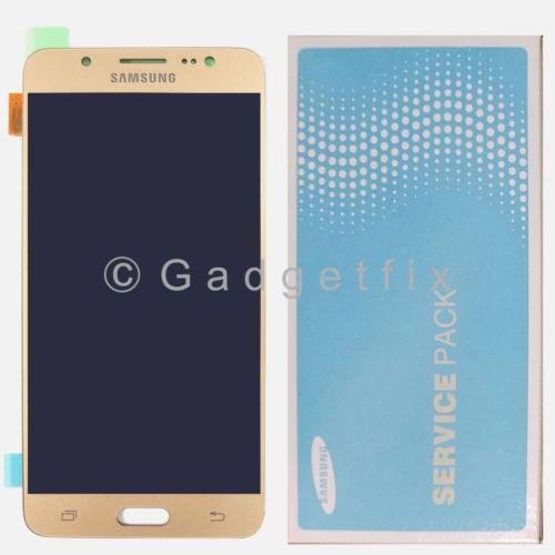Gold Samsung Galaxy J5 2016 J510M J510 LCD Display Screen Touch Screen Digitizer