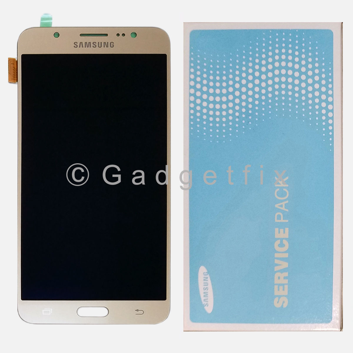 Gold Samsung Galaxy J7 2016 J710 J710F J710K J710MN J7108 LCD Display Touch Screen Digitizer