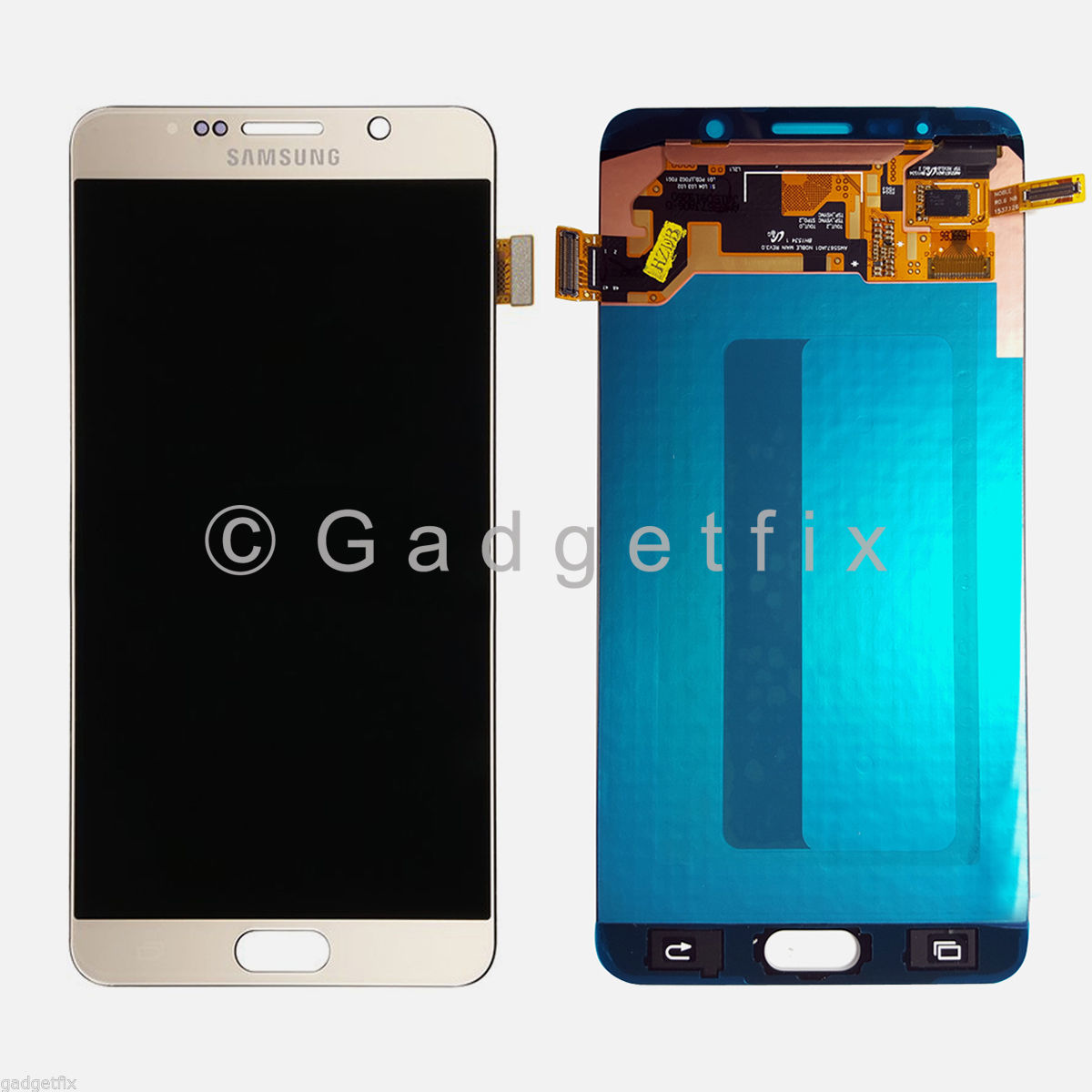 Gold Samsung Galaxy Note 5 N920A N920T N920V N920P LCD Display Touch Screen Digitizer