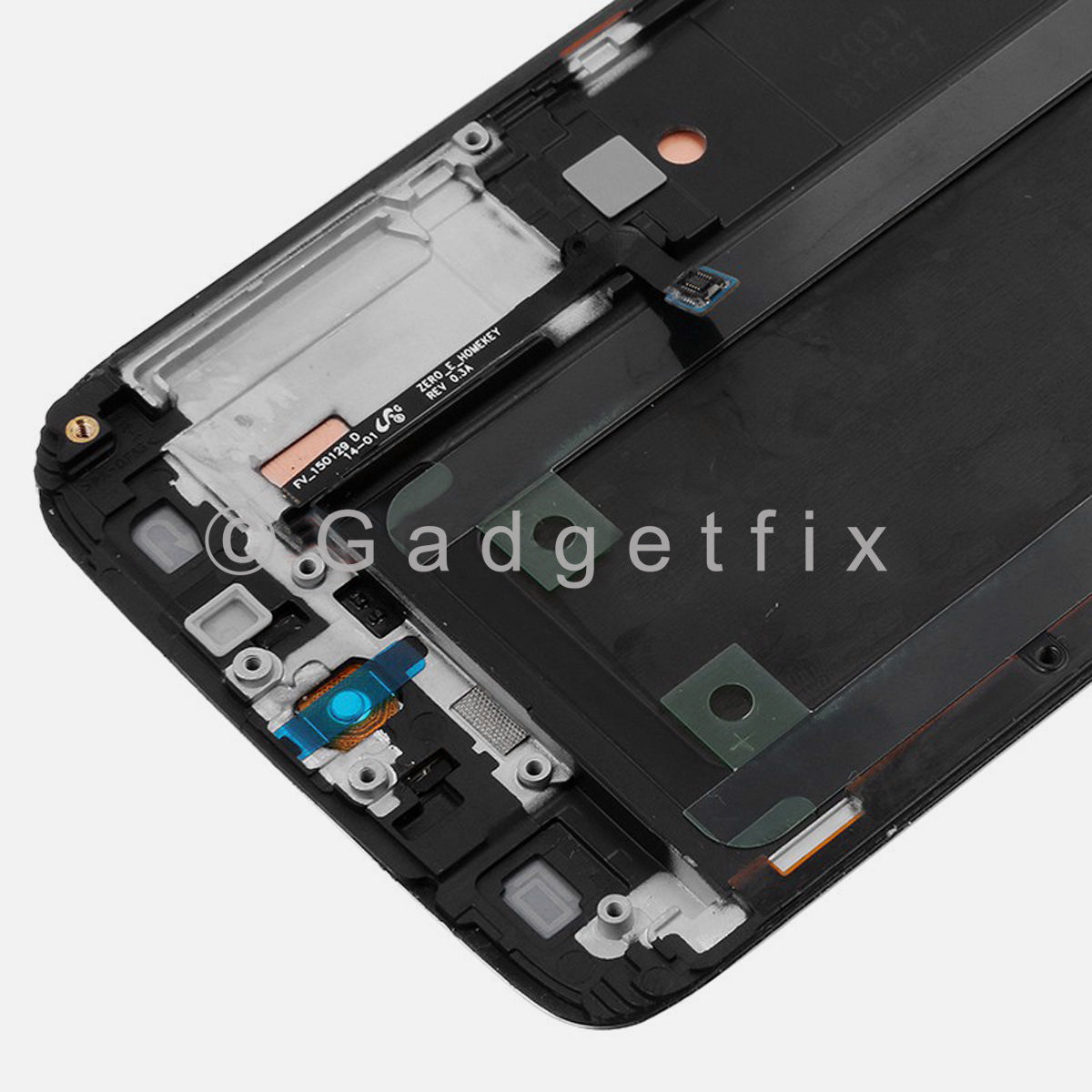 Gold Samsung Galaxy S6 Edge G925V G925P LCD Display Touch Screen Digitizer Frame