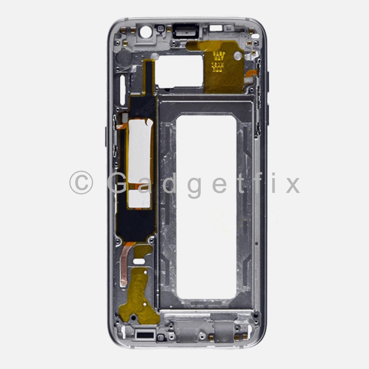 Gold Samsung Galaxy S7 Edge G935A G935T G935V G935P G935F Middle Housing Frame Bezel Mid Chassis