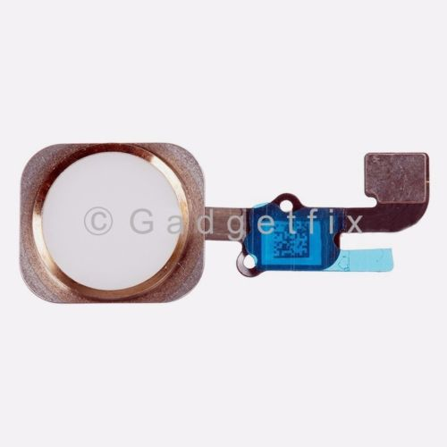 Gold iPhone 6S Flex Cable + Fingerprint Touch ID Sensor Home Button Connector