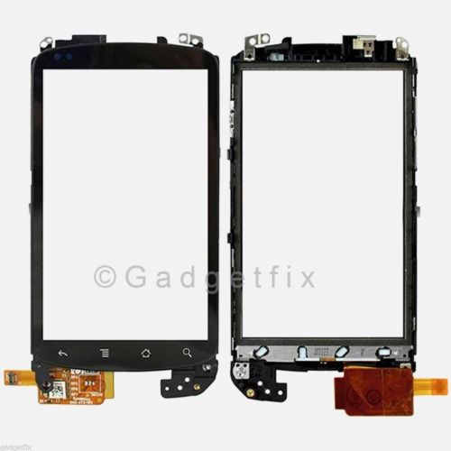 Google HTC Nexus One Panel Touch Screen Glass Digitizer Lens + Frame Faceplate
