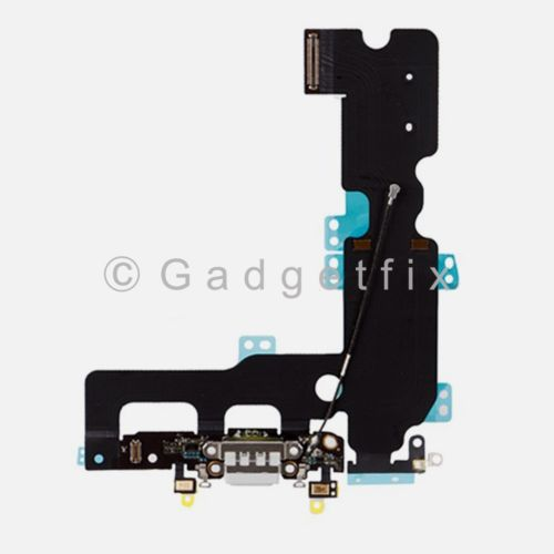 Gray Charging Charger Port Flex Cable Mic Antenna Replacement For iPhone 7 Plus