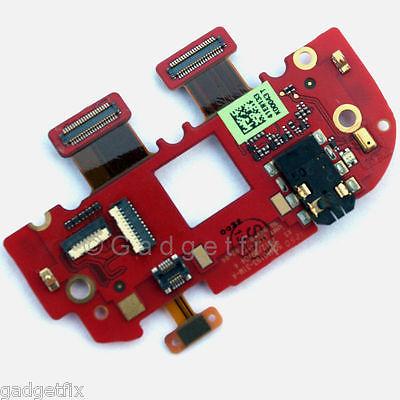 HTC One VX Headphone Audio Jack Mic Power Button Connector Port Board Flex Cable