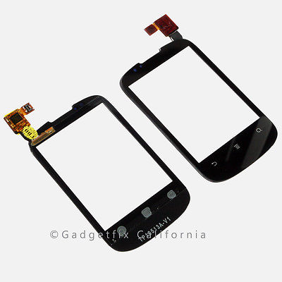 Huawei IDEOS X1 U8180-1 Digitizer Touch Screen Top Outer Glass Panel Lens Parts