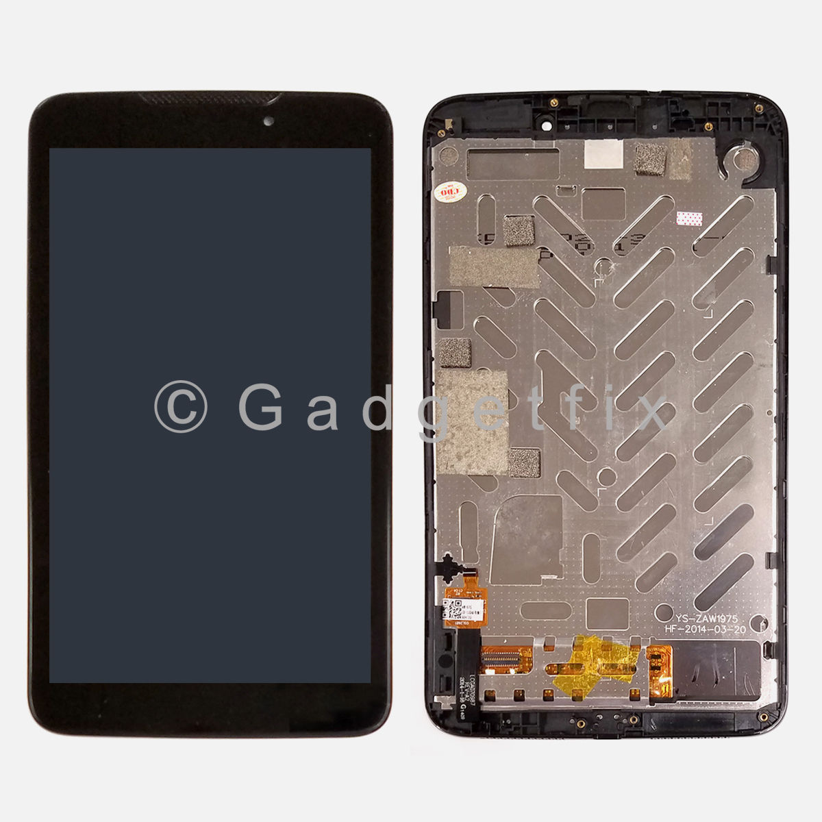 LCD Display Touch Screen Digitizer + Frame For BLU Studio 7.0 D700 D700a D700i