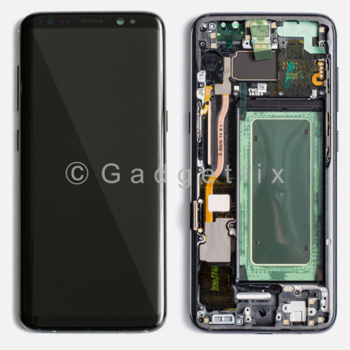 OEM Samsung Galaxy S8 Plus LCD Display Touch Screen Digitizer + Frame (Grade A)