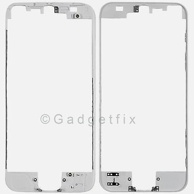 LCD Touch Screem Holder Mid Middle Frame Bezel Housing for White Iphone 5 5C 5S