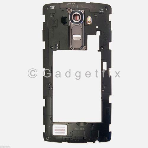 LG G4 H810 H811 H815 VS986 LS991 F500L Mid Rear Frame Camera Lens Loud Speaker