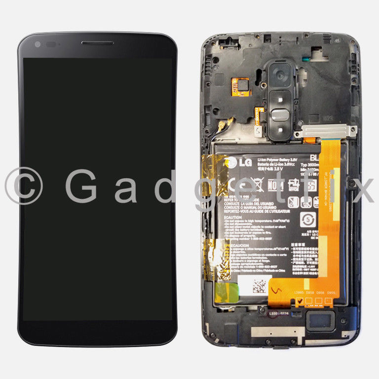 LG G Flex D950 D955 D958 D959 LS995 Touch Digitizer LCD Screen + Frame + Parts