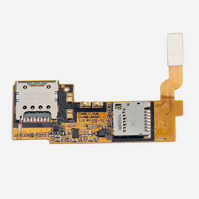 LG Optimus G Pro E980 Sim Card Memory Holder Slot Socket Tray Flex Cable Ribbon