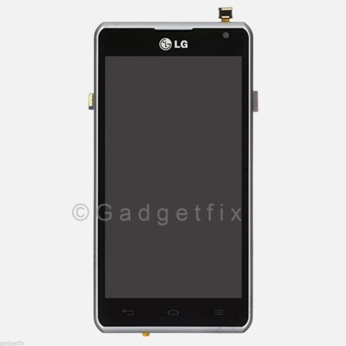 LG Spirit 4G MS870 LCD Screen Display Digitizer Touch Panel + Faceplate Frame US