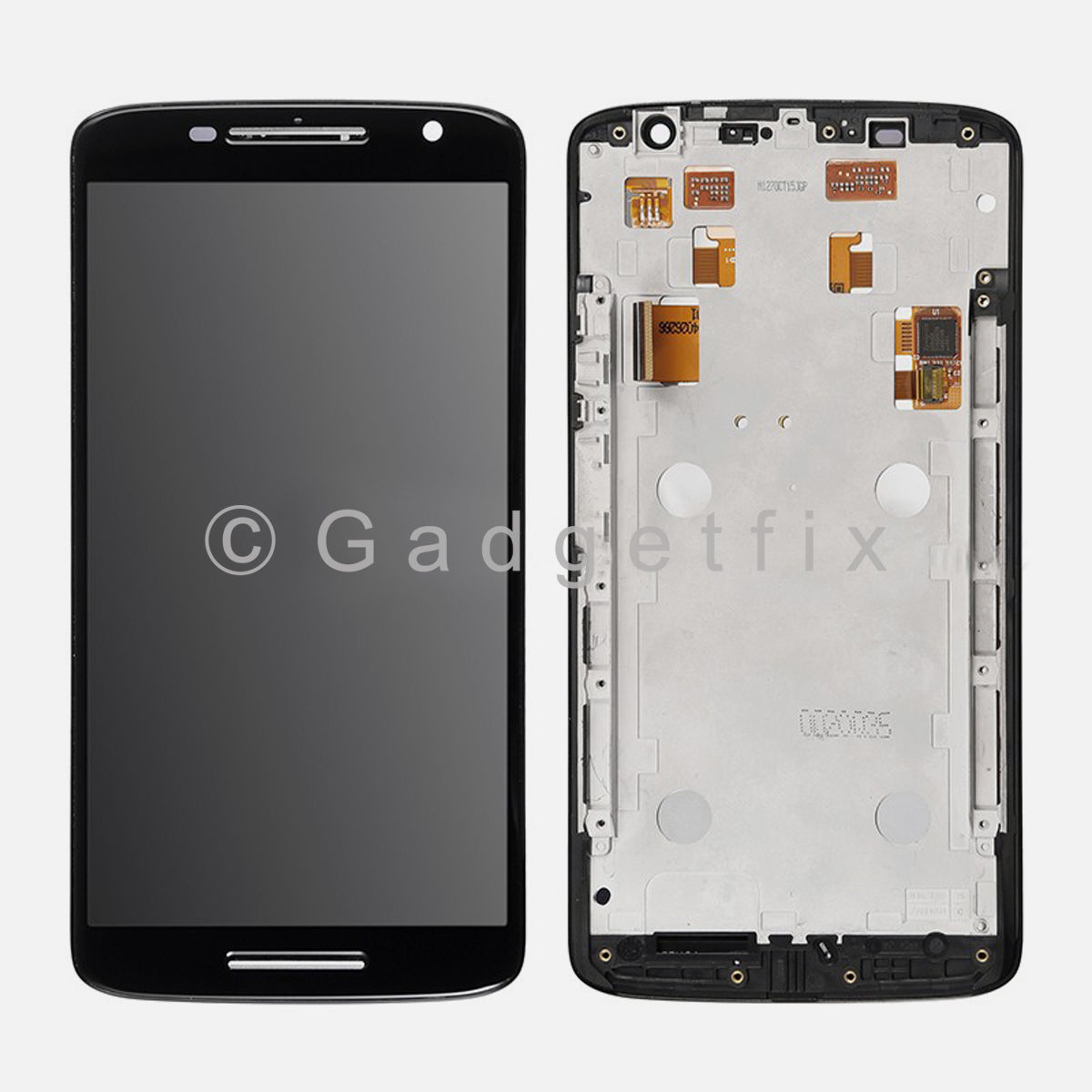 Motorola Droid Maxx 2 XT1565 LCD Screen Display Digitizer Touch Screen + Frame