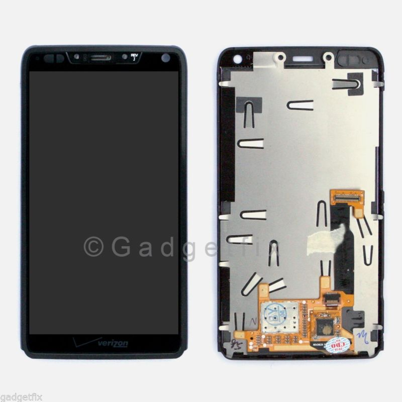 LCD Digitizer Touch Screen + Frame Faceplate Bezel For Motorola Droid Razr M XT907