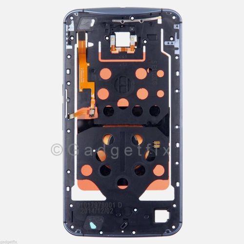 Motorola Google Nexus 6 XT1100 XT1103 Middle Plate Bezel Frame Housing Adhesive
