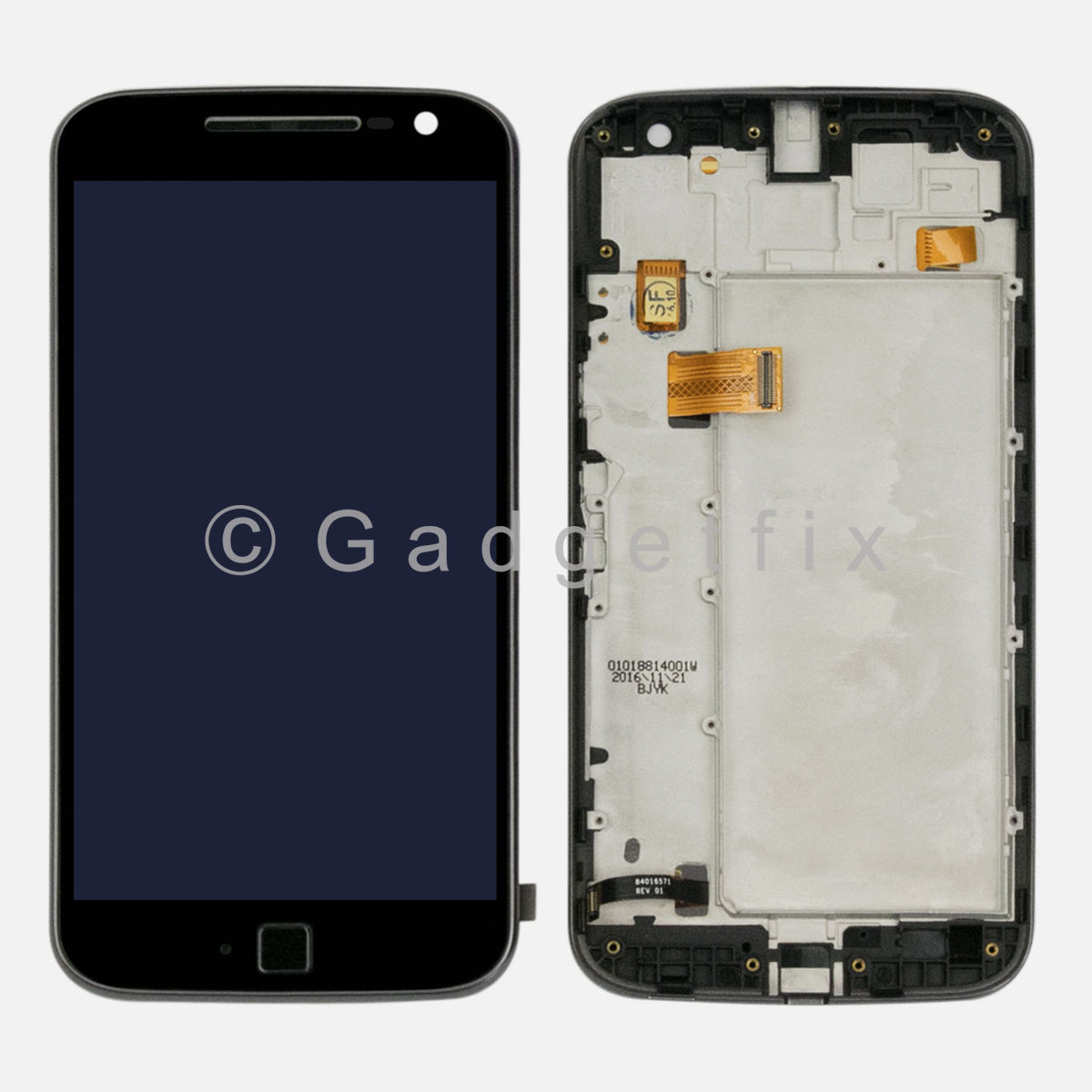 Motorola Moto G4 Plus XT1644 XT1643 XT1642 XT1641 LCD Touch Screen Digitizer + Frame