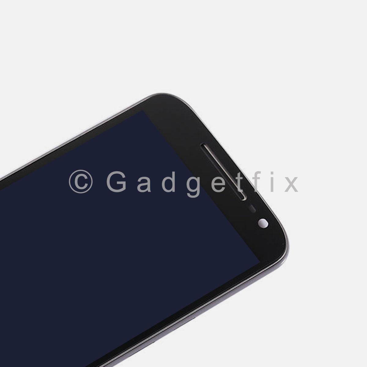 Motorola Moto G4 Plus XT1644 XT1643 XT1642 XT1641 LCD Touch Screen Digitizer + Frame