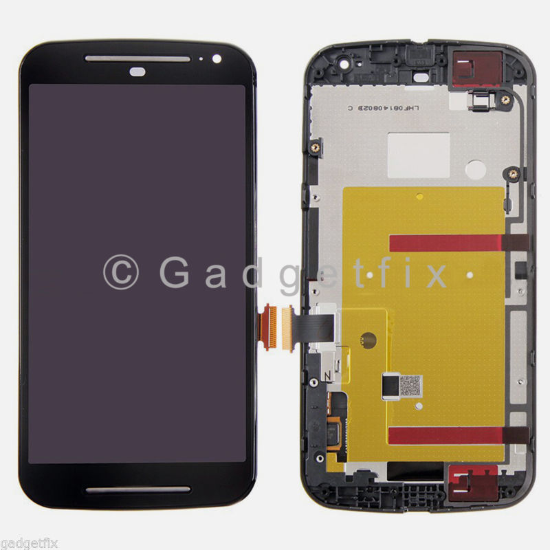 LCD Touch Screen Digitizer + Frame For Motorola Moto G 2nd Gen XT1063 XT1064 XT1068