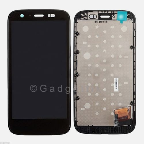 Display LCD Screen Touch Screen Digitizer + Frame For Motorola Moto G 4G LTE XT1040