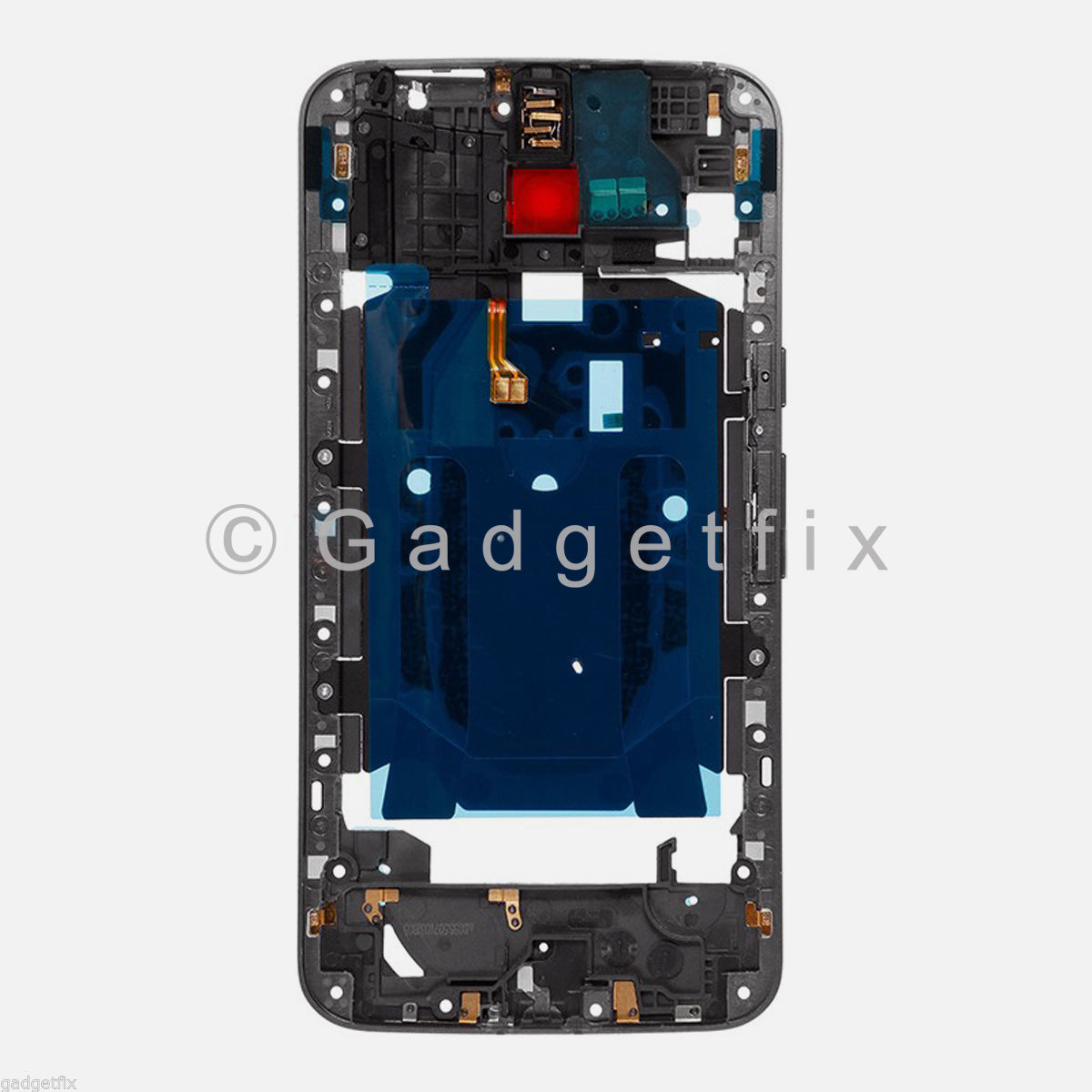 Middle Bezel Frame Housing + NFC Power Flex For Motorola Moto X Pure Edition XT1575
