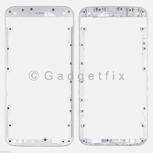 White Holder Front Frame Housing Bezel For Motorola Moto X Style 2015 XT1570 XT1572