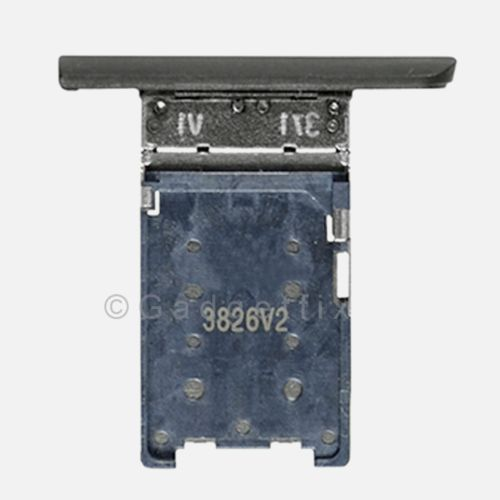 Nokia Lumia 1520 Bandit SimCard Holder Sim Tray Card Slot Black Part USA