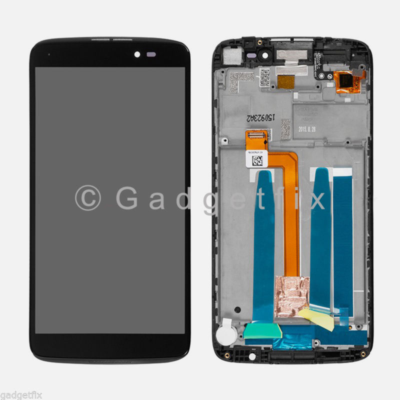 New Alcatel One Touch Idol 3 5.5 LCD Display Touch Screen Digitizer + Frame