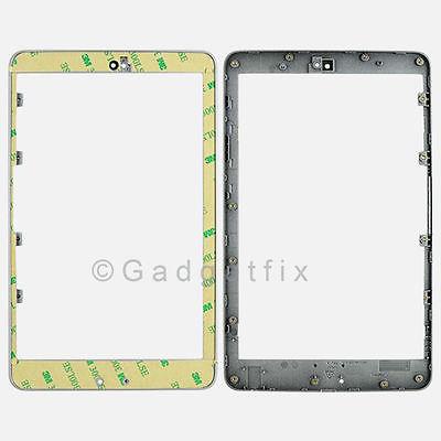 Asus Google Nexus 7 Front Frame Bezel Faceplate Housing Silver + Adhesive US