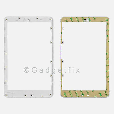 Asus Google Nexus 7 Front Frame Bezel Faceplate Housing White + Adhesive US