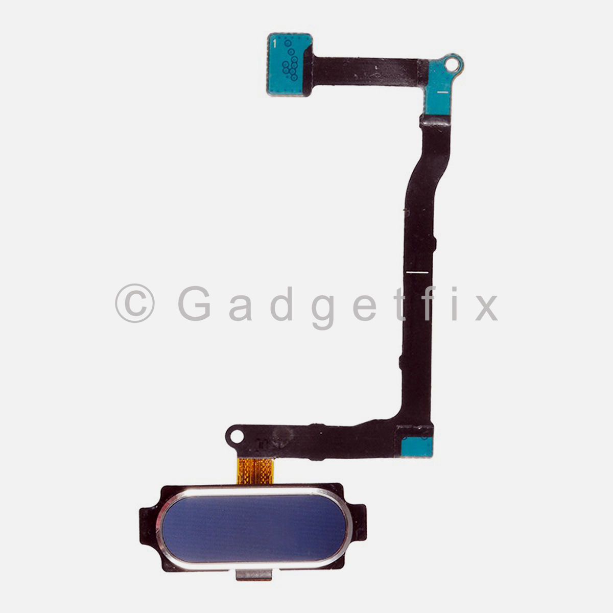 Black Menu Home Button Flex Cable Replacement Part For Samsung Galaxy Note 5