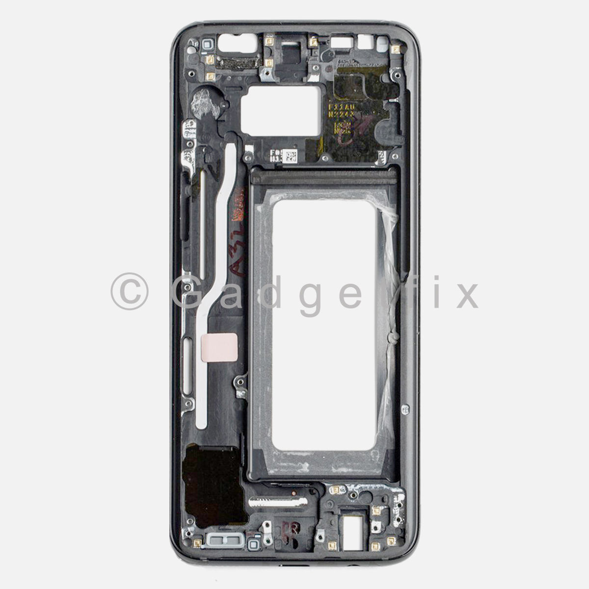 Black Samsung Galaxy S8 LCD Holder Middle Frame Bezel Mid Chassis Housing