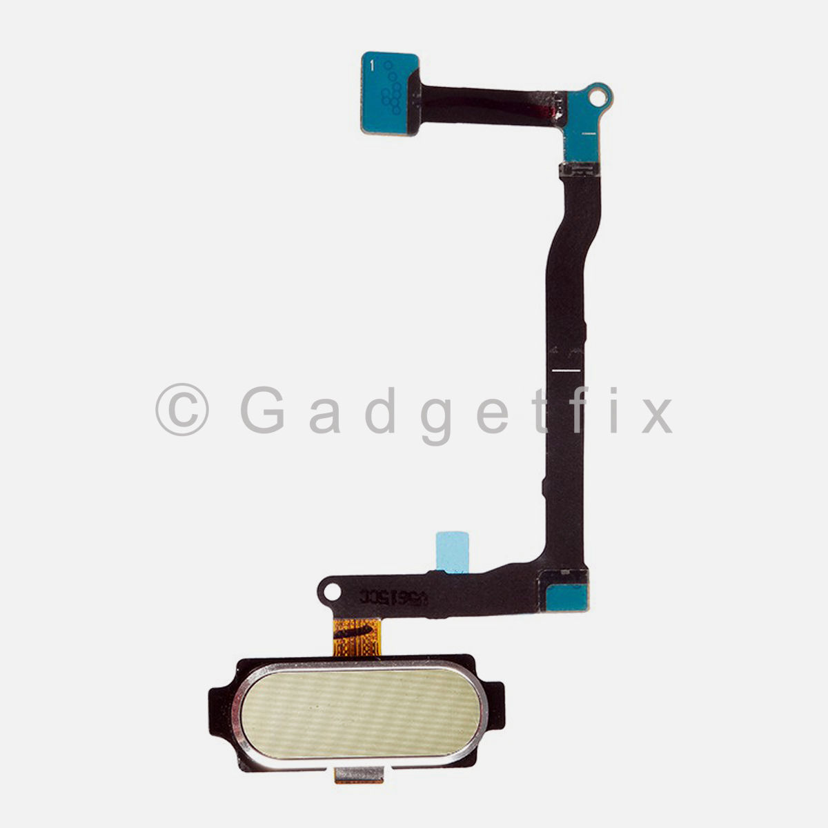 Gold Menu Home Button Flex Cable Replacement Parts For Samsung Galaxy Note 5
