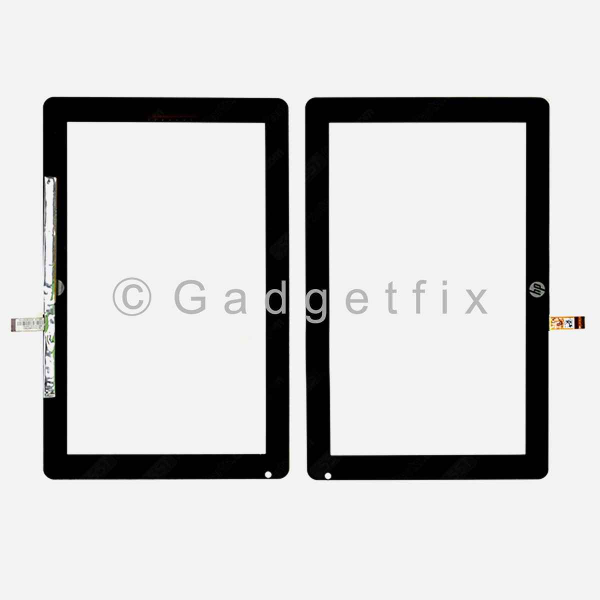 OEM HP Slate 2 II Digitizer Touch Screen Outer Top Glass Panel Free Shipping USA