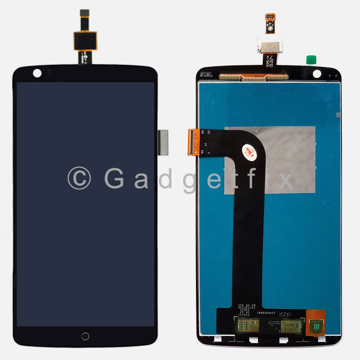 OEM LCD Display Touch Screen Digitizer Replacement Parts For ZTE Axon Pro A2015