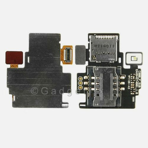 OEM LG Mytouch Q C800 Sim Simcard Memory Slot Card Holder Reader Slot Flex Cable