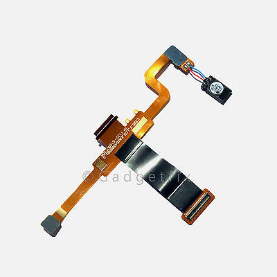LG Xpression C395 Motherboard Slide Flex Cable Ribbon + Earpiece Speaker