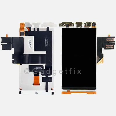 OEM Motorola Droid 4 XT894 LCD Screen Display Repair Part + Front Camera + Flex