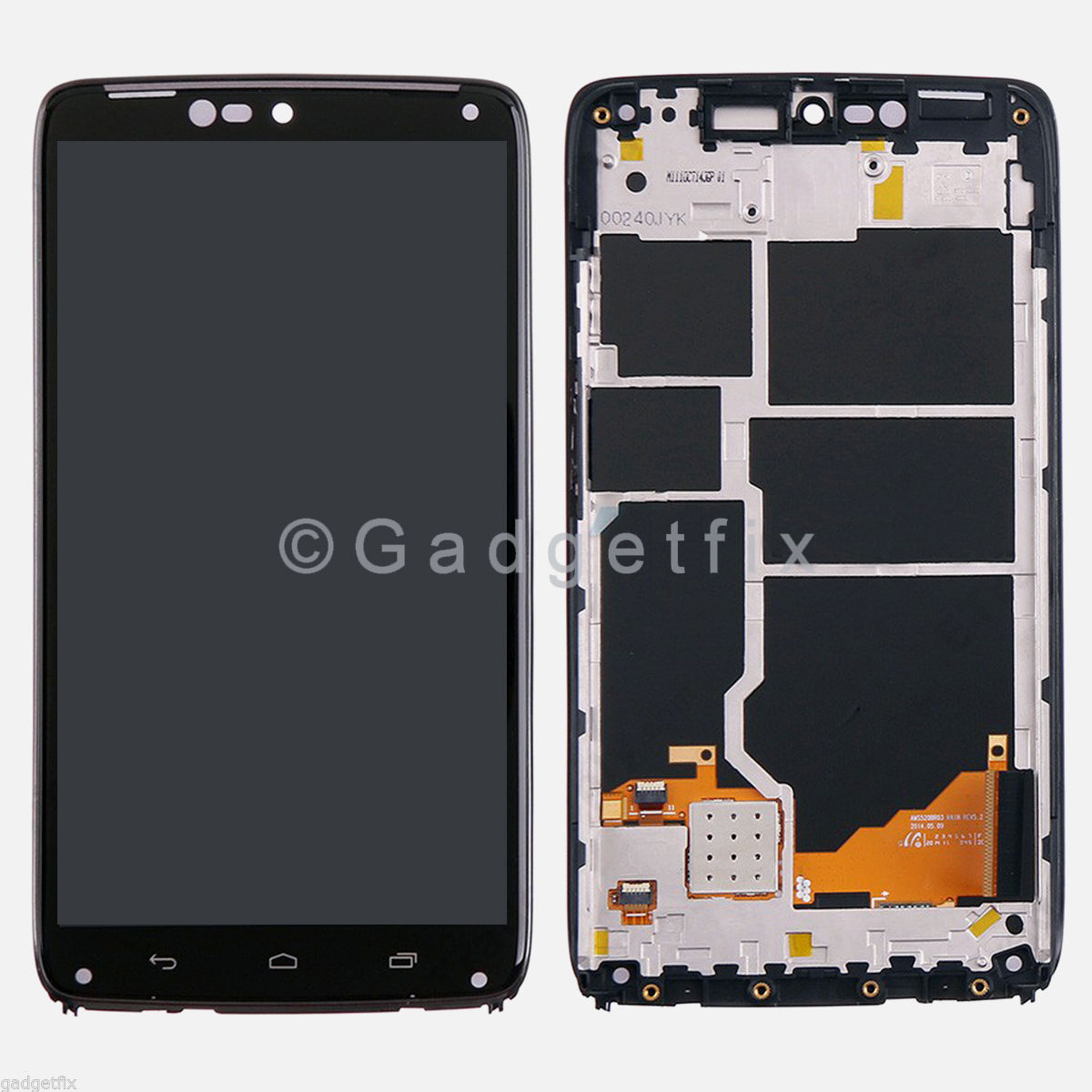 OEM Motorola Droid Turbo XT1254 LCD Screen Display Touch Screen Digitizer Frame