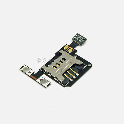 OEM Samsung Droid Charge i510 Volume Flex Cable + Sim Tray Card Holders Slot