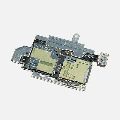 OEM Samsung Galaxy S3 S 3 III i9300 Flex Cable + Sim Card & Memory Holder Slot