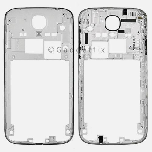 OEM Samsung Galaxy S4 i9500 i9505 i337 M919 Backplate Housing Rear Mid Frame USA