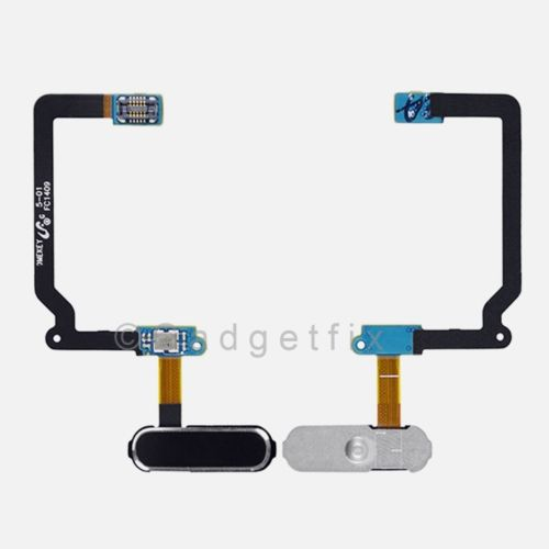 Black Home Button Flex Cable For Samsung Galaxy S5 (All Carriers)