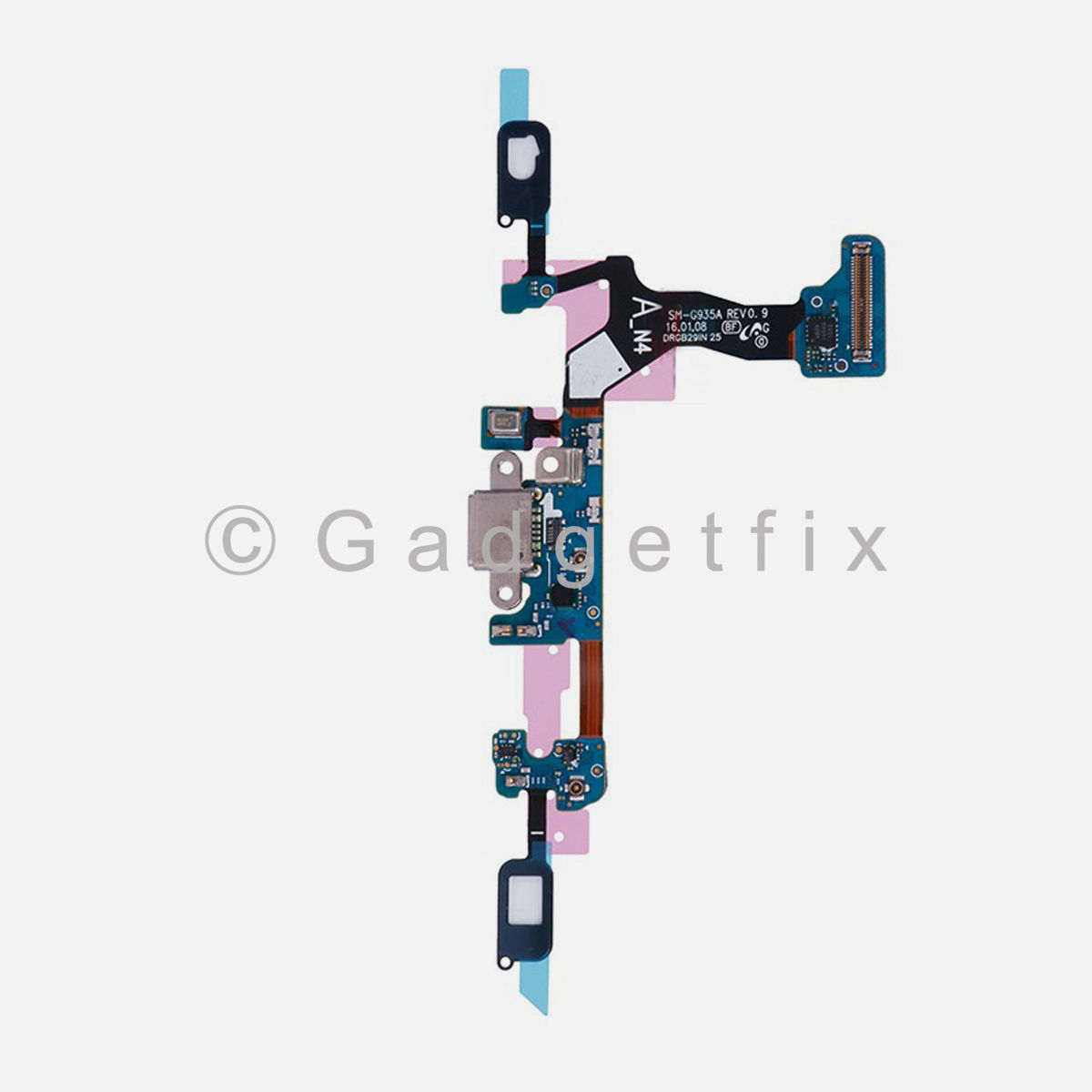 Samsung Galaxy S7 Edge G935V G935P USB Charging Port Dock Keypad Flex Cable
