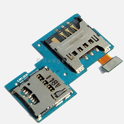 Samsung S2 Skyrocket i727 Sim Tray Memory SD Card Holders Slot Flex Cable